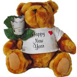 New Year Teddy Bear $34.95