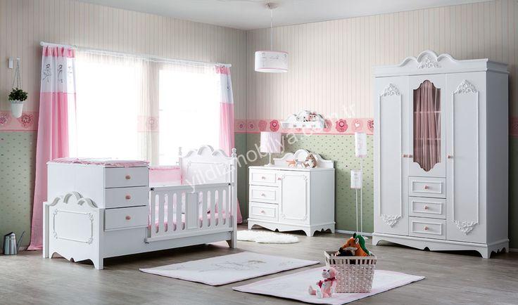 Craft Country Bebek Odası Pembe Kıymetliniz Prensesiniz İçin Hayal Ettiğiniz Odayı Artık Kurmak Çok Yakınınızda http://www.yildizmobilya.com.tr/craft-country-bebek-odasi-pembe-pmu5516 #kadın #moda #modern #home #ev #bebek #besik #ahsap #mobilya #pembe #pink http://www.yildizmobilya.com.tr/