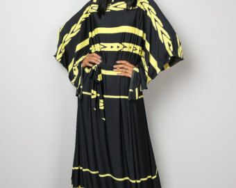Maxi Dress Kimono Butterfly Dusty Pink Maxi Dress : by Nuichan