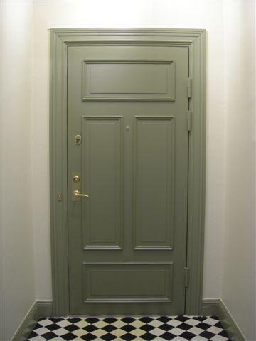 Säkerhetsdörr - Enkeldörr, 4 speglar - 100-705