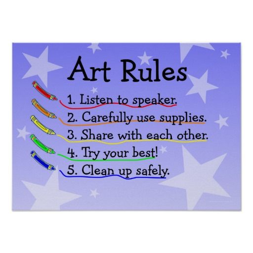Art Class Rules Poster lowest price for you. In addition you can compare price with another store and read helpful reviews. BuyShopping          Art Class Rules Poster please follow the link to see fully reviews...