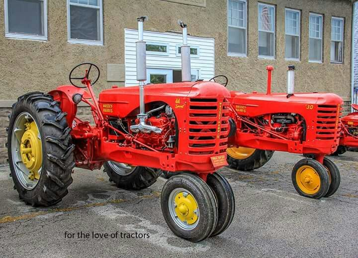 Massey-Harris 44 Special with a V-6 & 30