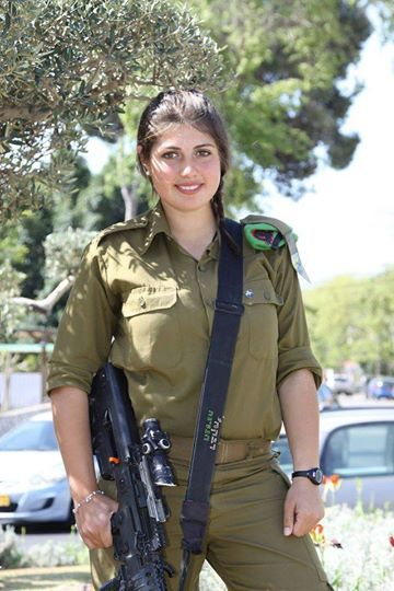 Pin By Nathan Walsh On Idf - Israel Defense Forces - Women -9806