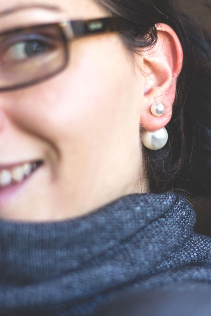 Fashion Trend Watch: Dior Double Pearl Earrings