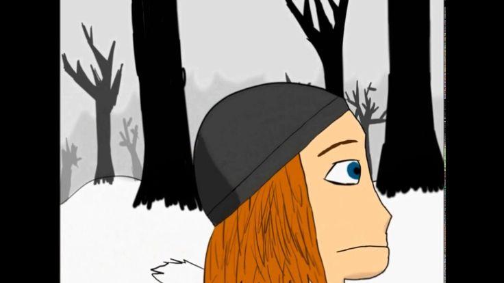 """animace: """"zasněžená věž"""""""