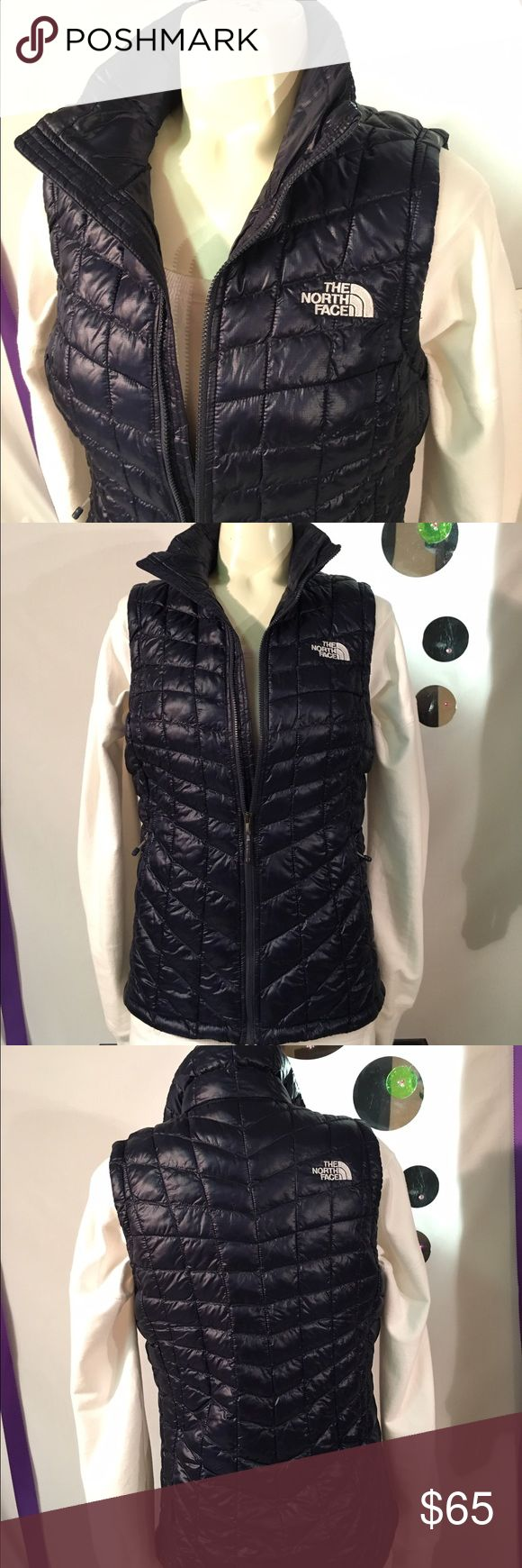 The North Face Vest Worn once! Color is navy blue, size xsmall. No Trading please! Posh rules only! Thank you! North Face Jackets & Coats Vests