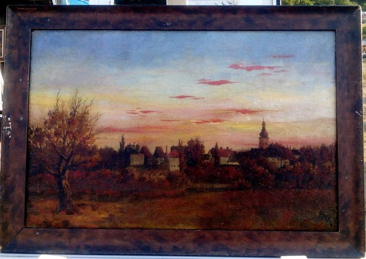 OIL PAINTING ON CANVAS , Hungary, #Realism