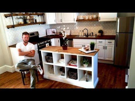 Kücheninsel selber bauen – IKEA Hack für die IKE…
