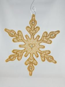 What a charming snowflake, get your for $8 each