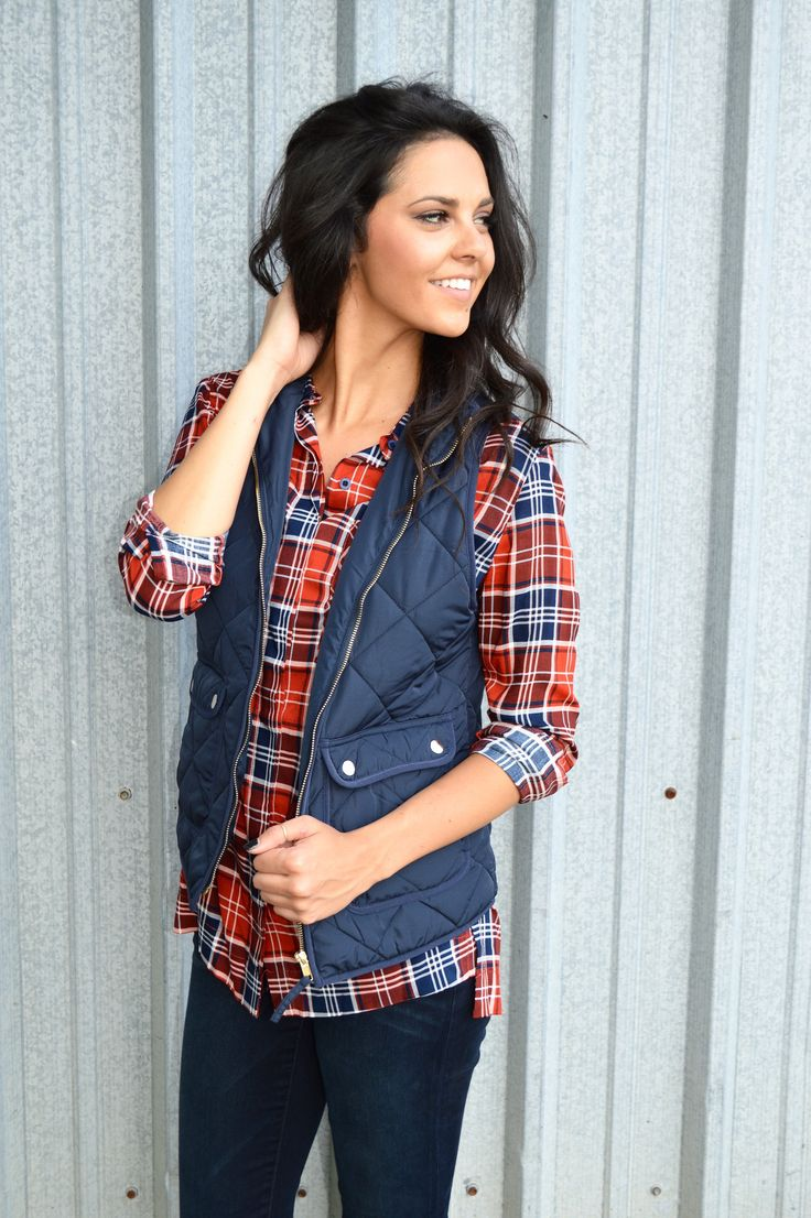 Wanderlust Vest- Navy from Shop Southern Roots TX