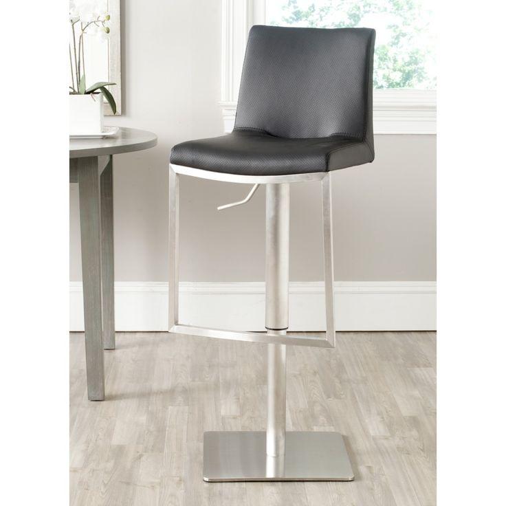 safavieh ember black barstool overstock shopping great deals on safavieh bar stools
