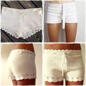 Camillas livsstil: Virkade shorts