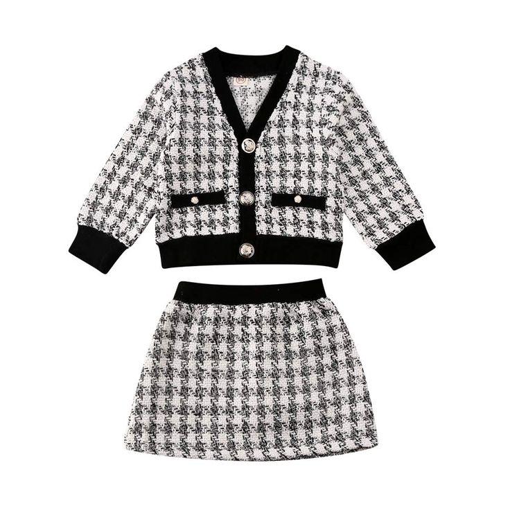 Chloefairy Kleinkinder Baby M?dchen Bekleidung Kleid Set ...