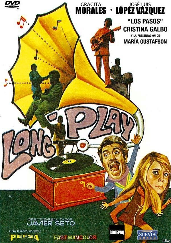 Long Play Dir Javier Setó Intèrprets Gracita Morales José Luis López Vázquez Cristina Galbó Game Artwork Video Game Covers Comic Book Cover