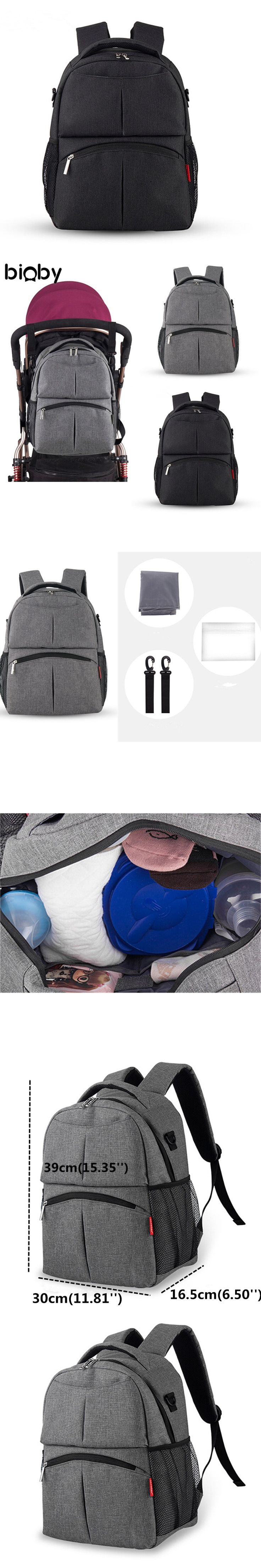 Multipurpose Baby Diaper Backpack Mummy Bag Nappy Changing Bag Mummy Backpack Insulation Bag Outdoor Travel Baby Care Supplies