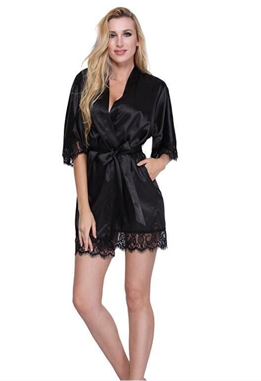 Add to your list of wedding ideas Sexy Bridesmaid S... Check it out! http://weddingforyou.co.nz/products/sexy-bridesmaid-short-satin-bride-robe-lace-kimono-women-wedding-sleepwear-summer-female-bathrobe-lingerie-clothes-home-femme-l3?utm_campaign=social_autopilot&utm_source=pin&utm_medium=pin