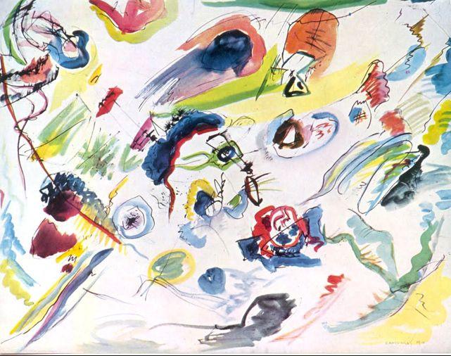abstraccion lirica - wassily kandinsky