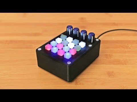 Build Your Own 16-Button MIDI Controller with an Arduino