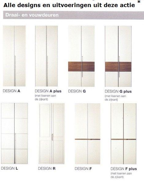 Hulsta kast design deur model grepen uitvoeringen draai-, vouwdeuren en schuifdeuren, roomdivider nissysteem, kleuren,  dealer slaapkenner theo bot hout of lak laque kleur.