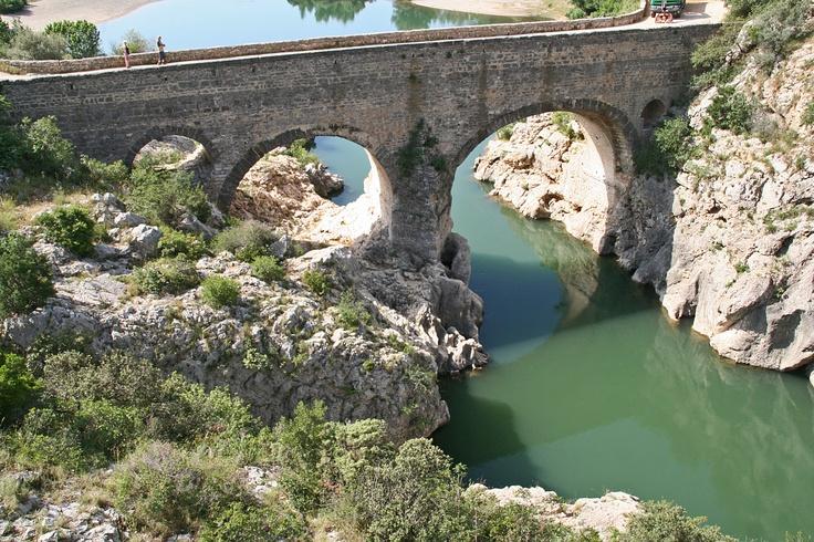 Le pont du diable near Sète, France