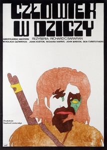 Man in the Wilderness, Polish Movie Poster