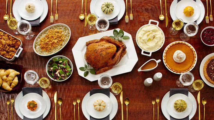 First Thanksgiving Menu