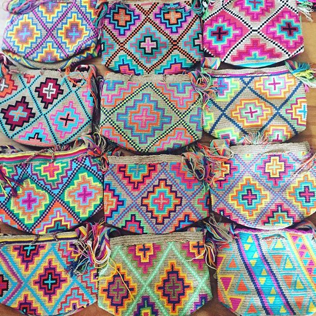 Wholesale & Retail SHOP the full collection Whatsapp +57 321 964 9060 or email! #mochilaswayuu #wayuubags#colombianbags#wayuumochilas#wayuubag#wayuumochilabag #colombianbags