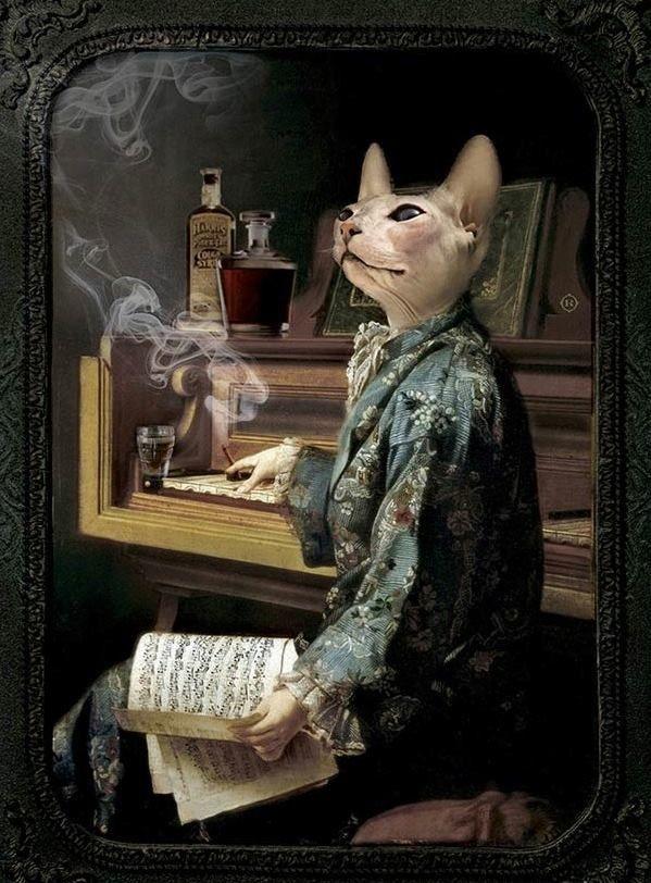 Ibride's Animosités LAZY VICTOIRE CAT TRAY