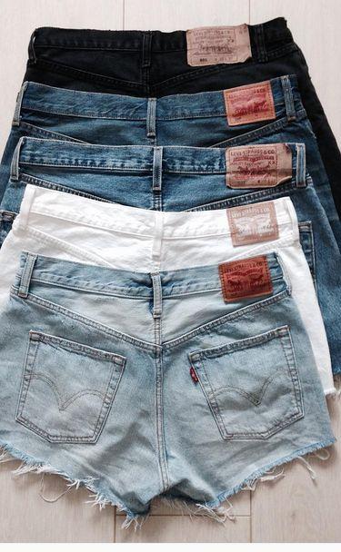 Pick a pair. Savor the last of shorts season in these cutoffs, ranging from crisp white to dark denim.