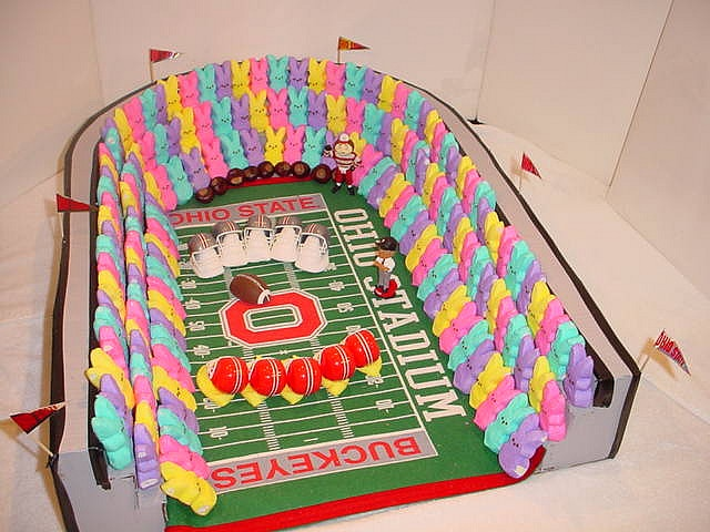 PEEPS STADIUM    #PEEPS    I am sorry this is not Holiday related
