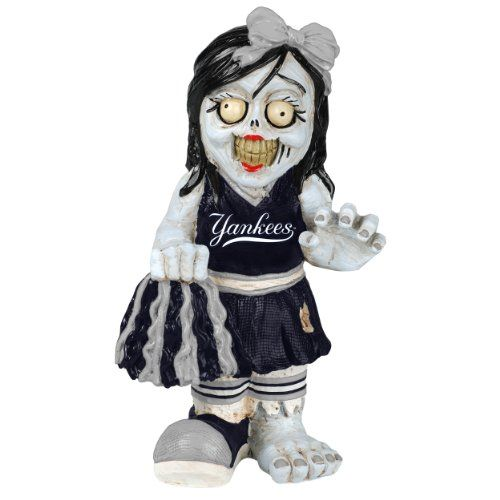 MLB New York Yankees Cheerleader Team Zombie Figurine -- Read more reviews of the product by visiting the link on the image.Note:It is affiliate link to Amazon.