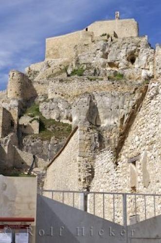 Historic Morella Castle Valencia Spain