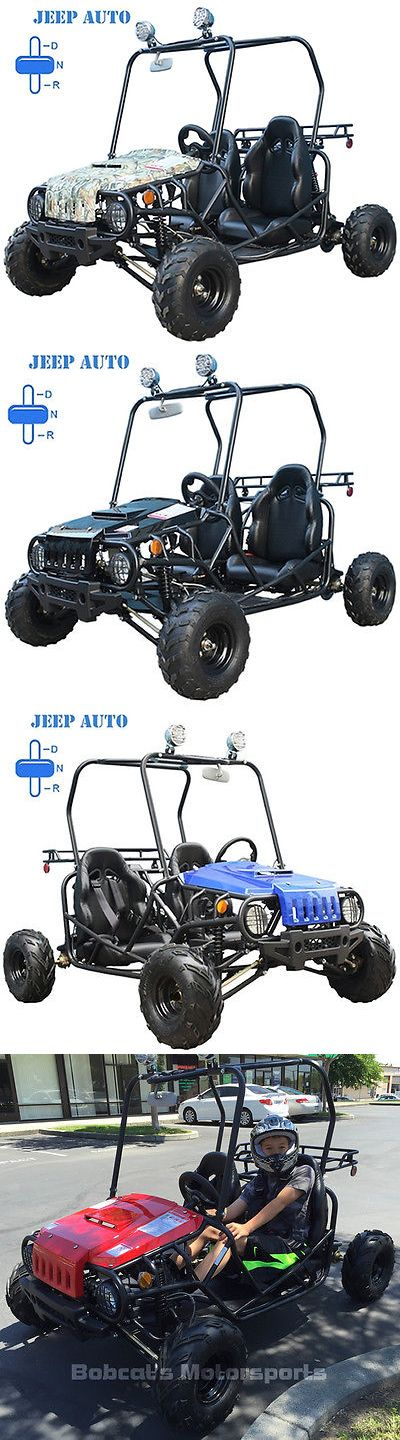 Complete Go-Karts and Frames 64656: New Youth Go Kart 110Cc Children Kid Jeep Atv Automatic With Reverse Free Helmet -> BUY IT NOW ONLY: $999 on eBay!
