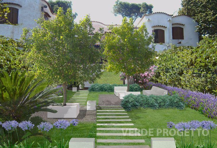 70 best progetti di giardini e terrazzi by verde for Disegno giardini