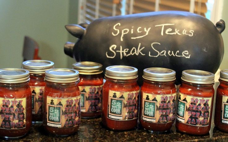 Inspired By eRecipeCards: Texas Steak Sauce (Crock Pot Easy) - 52 Small Batch Canning Ideas and Grilling and BBQ Secrets