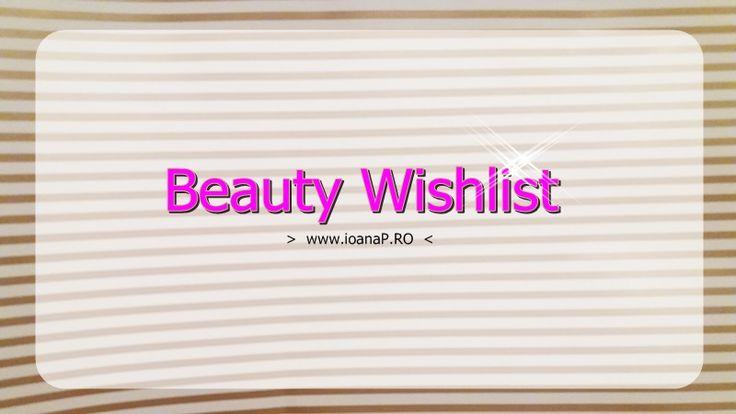 Dacă la finalul lunii octombrie scriam o listă cu haine şi alte chestii pe care vreau să le bifez din punct de vedere stilistic, iată-mă acum făcând o listă cu produse de beauty – îngrijire şi înfrumuseţare. Ideea a pornit …