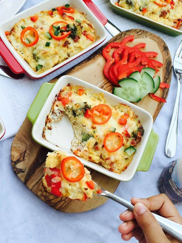 20. Baked Broccoli Cheese and Pepper Omelet http://greatist.com/fitness/50-awesome-pre-and-post-workout-snacks