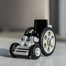 Wheelchair - Custom LEGO Build / Set / Vehicle for minifigures