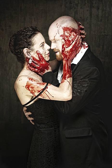 Resultado de imagem para theatre blood shakespeare