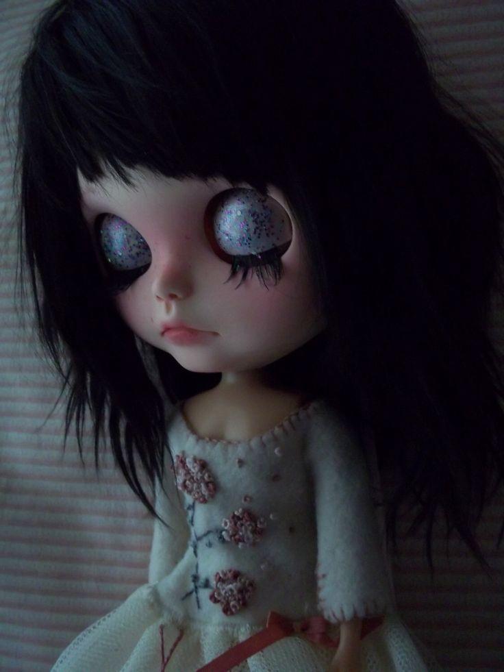 "OOAK Custom Blythe Doll - ""Marisol"" by ArtDollKeepsakes on Etsy https://www.etsy.com/listing/514959769/ooak-custom-blythe-doll-marisol"