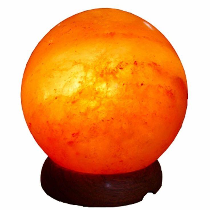 Himalayan Salt Lamps Globes : Himalayan Salt Globe Shape Lamp