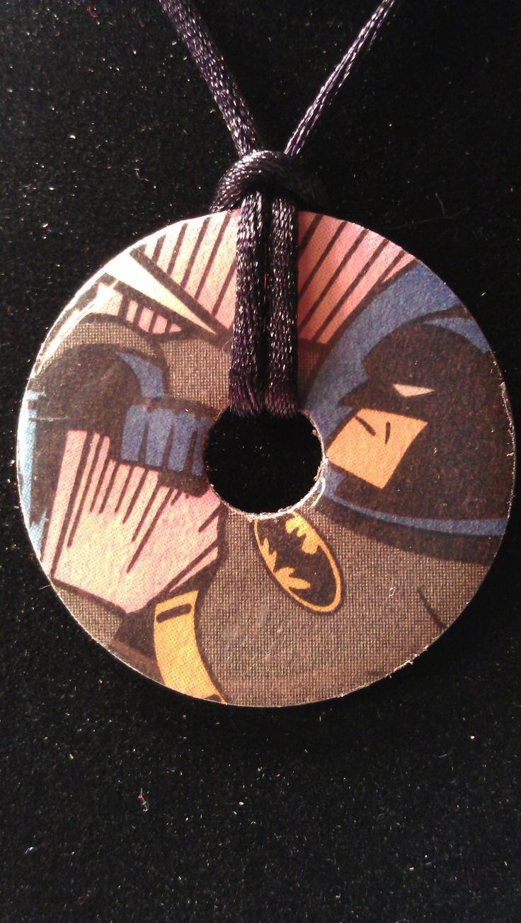 batman superman reversible necklace washer pendant on kim wall murder id=55753