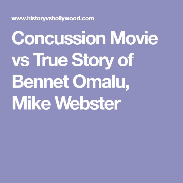 Concussion Movie vs True Story of Bennet Omalu, Mike Webster