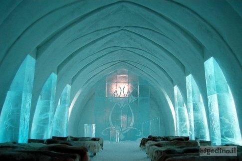 #hotel più strani del mondo: Ice Hotel, Jukkasjarvi, #Svezia #travel #viaggi