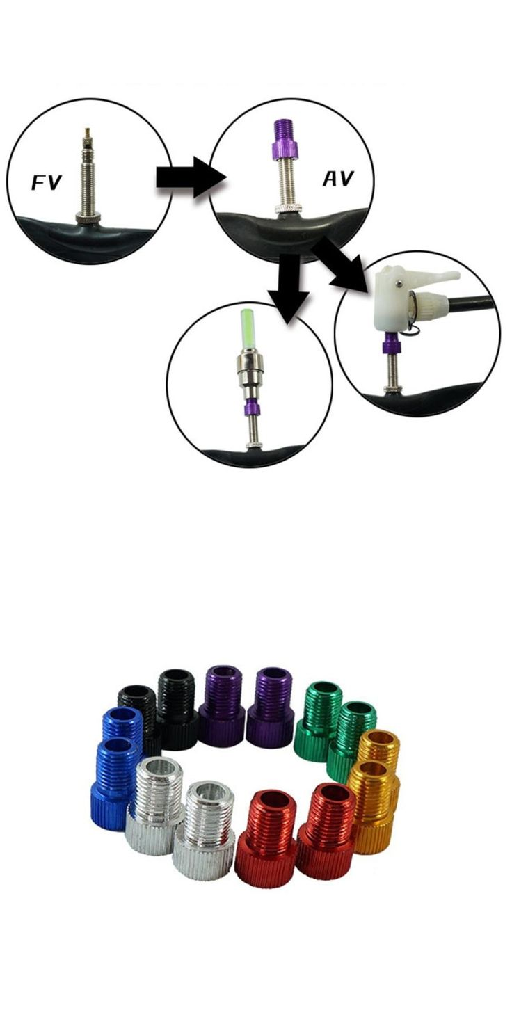 Tires Schrader Valve Bicycle Tire Tyre Air Pump Inflator Multi-use Connector Head 2017 jun26