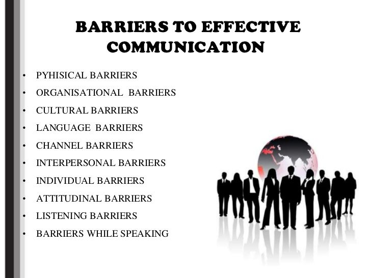 the range of barriers to effective interpersonal Interpersonal communication is not just about what is actually said - the language used - but how it is said see our page:barriers to effective communication for more information types of feedback range from direct verbal statements, for example say that again, i don't understand, to subtle facial.