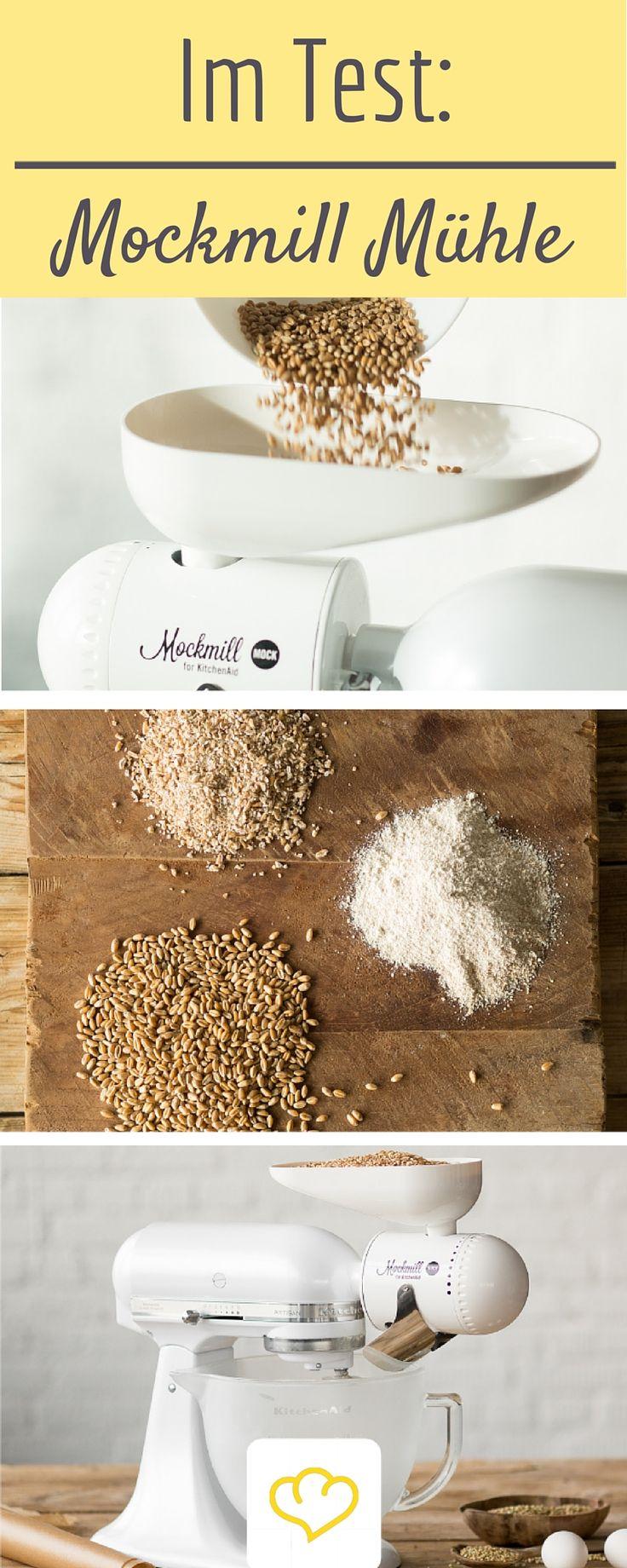 Mit dem KitchenAid Zubehör von Mockmill wird deine Küchenmaschine zur Getreidemühle! Ob sich die Anschaffung lohnt? Wir haben den Test gemacht!