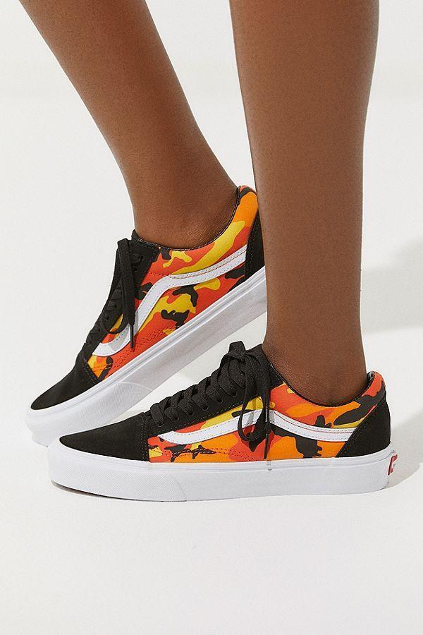 fd615462aa5e21 Vans Old Skool Pop Camo Sneaker