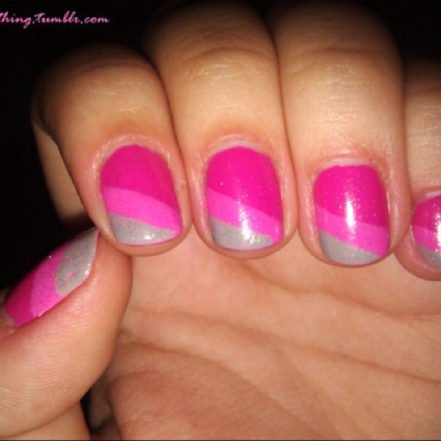 On the toes   Coral ombre nails, Nails, Fancy nails