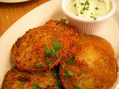 """Six in the Suburbs: """"Fried"""" Green Tomatoes"""